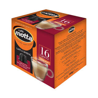 CAFFE' MOTTA DG COFFEE&GINSENG 16 CAPSULES